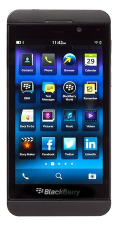 Want for my future hendset... BlackBerry Z10