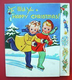 1950's Christmas Card