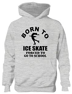 Print4U Born To Ice Skate Forced to Go To School Kids Hoodie Age 12-13 Grey BLACK TEXT Hooded Top All Of our Hoodies are of the highest quality. High Quality Print - Will Not Crack Peel Or Fade. Wash Inside Out , We also have T-SHIRTS, SWEATSHIRTS, KIDS TEE (Barcode EAN = 5054120630673) http://www.comparestoreprices.co.uk/december-2016-6/print4u-born-to-ice-skate-forced-to-go-to-school-kids-hoodie-age-12-13-grey-black-text.asp