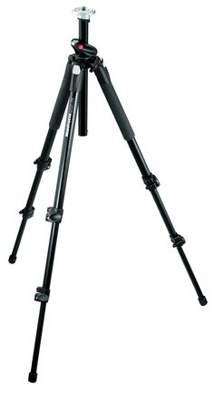 Professional Aluminium Tripod Black Without Head 190XPROB - 190 Series | Manfrotto