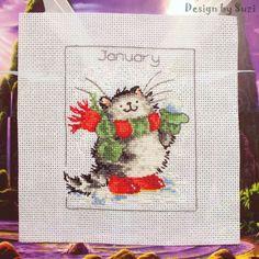 Margaret Sherry - Calendar Cats (January)