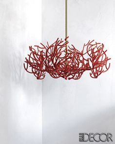 Coral Chandelier...one for me too please!