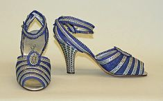 Shoes Designer: Netch and Frater  Date: 1930–37 Culture: French Accession Number: 1973.185.6a, b