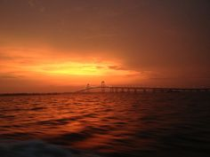 carlyayres:  Taken on the ferry from Newport to Jamestown, RI.