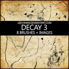Decay Brushes 3 by Leichnam