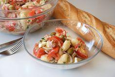 Ensalada de gnocchi de patata