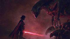 Quand Star Wars affronte Alien - Le blog insolite