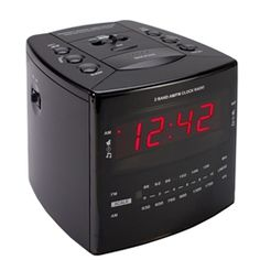 The Cube Alarm Clock radio is the hardwired version of our most popular hidden clock model. This hidden camera is a fully functioning plug and play surveillance system, with a high quality CCD camera built inside the camera is virtually hidden. Each Alarm Clock Camera has a choice of black/ white or color camera. This system must be plugged into a DVR, VCR or Computer for recording capability. Radio Alarm Clock, Digital Alarm Clock, Pen Camera, Covert Cameras, Hidden Camera, Surveillance System, Plugs, Black And White