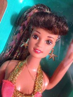 1996-NRFB-Splash-n-Color-Teresa-Barbie-Doll-16172-Free-Domestic-Shipping