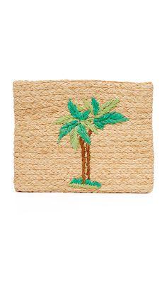 Palm Tree Clutch