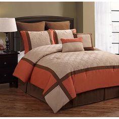 14 Best Logan Bedroom Images On Pinterest Beds Orange Comforter