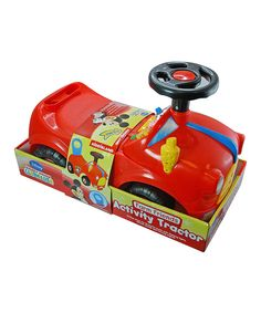 Look at this Mickey Mouse Farm Friends Activity Tractor Ride-On on #zulily today!