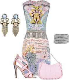 Shop the Look from BevHillsMag on ShopStyle Classy Outfits, Chic Outfits, Pretty Outfits, Beautiful Outfits, Passion For Fashion, Love Fashion, Spring Fashion, Fashion Looks, Womens Fashion
