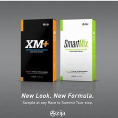 Zija's All New Smart Mix  XM+ ..... Coming Soon October 2013