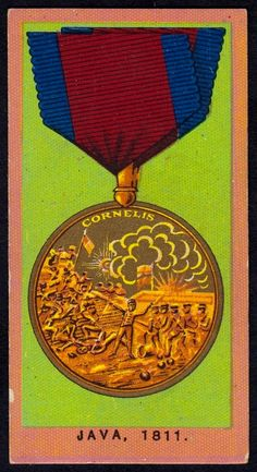 """Wills's Cigarettes """"Medals"""" issued in Java, Issued for the defeat of the Dutch forces. British Medals, Cigarette Box, Java, Soldiers, Britain, Dutch, Awards, Military, History"""