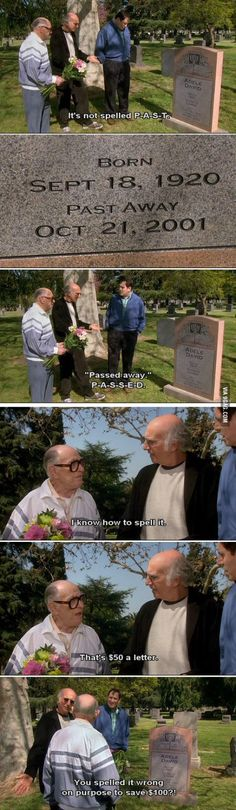 I love this show [Curb Your Enthusiasm] is part of Funny - More memes, funny videos and pics on Lol, Haha Funny, Stupid Funny, Funny Cute, Funny Memes, Jokes, Funny Stuff, Funniest Memes, Random Stuff