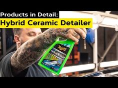 How to boost GLOSS, PROTECTION and WATER BEADING with Hybrid Ceramic Detailer | Products In Detail - YouTube Water Beads, Automobile, Beading, Ceramics, Detail, Youtube, Products, Car, O Beads