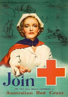 Posters - Red Cross - Carter's Price Guide to Antiques and Collectables Cross Pictures, Vintage Pictures, Teaching Skills, American Red Cross, Price Guide, Graphic Design Illustration, Vintage Posters, Red And White, History