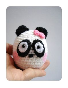 Crochet Amigurumi Panda by AllSoCute on Etsy, $20.00