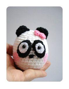 """Crochet Amigurumi Panda by AllSoCute on Etsy, $20.00"" #Amigurumi  #crochet"