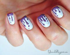 nails, drip design