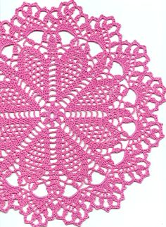 Crochet doily lace doily table decoration by faustapink900 on Etsy, £6.00