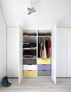 TheDesignerPad - The Designer Pad - BAUHAUS INSPIRED - multi-color drawers