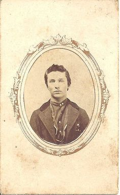 This CDV was taken by Union Gallery, Minonk, Illinois, and carries a Civil War revenue stamp.