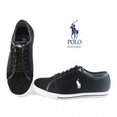 Polo Homme Tennis Shoes-Noire