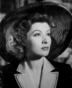 Greer GARSON (1904-1996) NF * AFI Top Actress nominee. Notable Films: Mrs. Miniver (1942); Goodbye, Mr. Chips (1939); Pride and Prejudice (1940); Random Harvest (1942); Madame Curie (1943); The Valley of Decision (1945); That Forsyte Woman (1949); Julius Caesar (1953); Sunrise at Campobello (1960). Nominated for 7 Oscars incl. a record 5 in consecutive years, tying Bette Davis' record, still unbeaten.