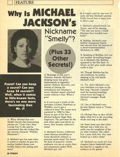 ;) <3 Curiosities and Facts about Michael Jackson ღ @carlamartinsmj