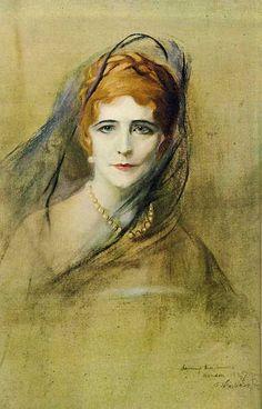 Portrait of Elinor Glyn by Philip Alexius de Laszlo The Painted Veil, Art Pictures, Photos, Tiger Skin, Art Gallery, Internet Art, Beauty In Art, Academic Art, Best Portraits
