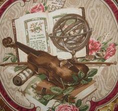 Stroheim & Romann Sonata Linen Print Drapery Upholstery Fabric