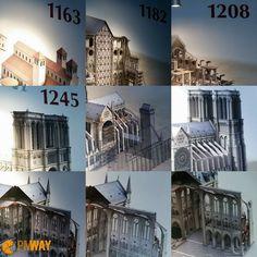 """Já ouviu falar na expressão """"obra de Igreja""""? É uma forma de dizer quando um projeto está demorando muito para ficar pronto. Isso impacta na grandiosidade do produto? O que acham? Veja abaixo a Catedral de Notre Dame que em 1981 foi reconhecida como patrimônio mundial da UNESCO e teve várias etapas de sua construção desde 1163 até 1860. . . . INSCREVA-SE NO NOSSO SITE . . . #catedral #cathedralenotredame #paris #interlaken #gerenciamentodeprojetos #projectmanager #pmway #projectmanagement…"""