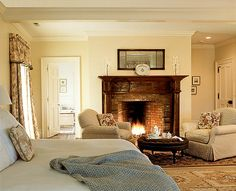 Master Bedroom Suite - I want a fireplace in the bedroom.