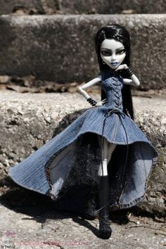 "Платье ""Городская нимфа"" для кукол Monster High"