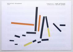 Estructura ascendente 1949 Compositor: Tomás Maldonado Intérprete: Marcelo Gutman. 2008 | by marcelogutman