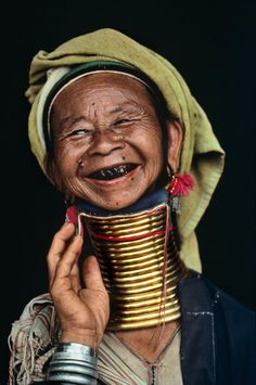 Burma | Steve McCurry  20 women are not allowed to leave Thailand as they are considered a tourist attraction because of their cultural traditions - these rings have become a symbol of slavery, not of beauty