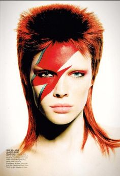 1000+ images about David Bowie 1970s Makeup on Pinterest ...