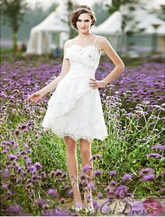 Wedding Dress Short Wedding Dress