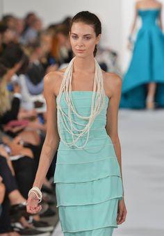 NY Fashion Week: Oscar De La Renta Spring 2014|Lainey Gossip Lifestyle