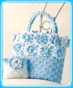 Algodón crochet para tejer bandoleras y mini carteras de todo uso