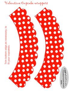 free polka dot printables