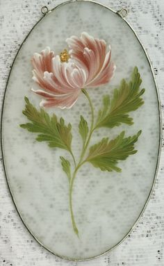 Margot Clark pattern packet Multi-Load Mum on Glass One Stroke Painting, Stencil Painting, Tole Painting, Texture Painting, Fabric Painting, Painting & Drawing, Rock Flowers, Country Paintings, Easy Paintings