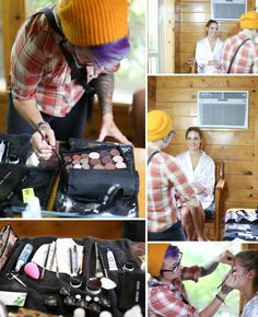 Lindsey Ryan Mountain Springs Lodge Leavenworth Wedding - Pacific Bride Mobile Makeup & Hair - Eva Rieb Photography