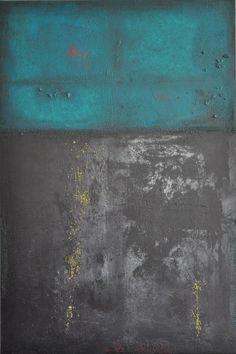 abstrakte Acrylmalerei, Unikat, Original,120x80cm von Kunst & Design Werkstatt auf DaWanda.com