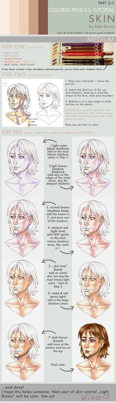 ". . . Do not distribute without my permission. Next and the last part of my tutorial. I hope it helps someone. Let me know if yes xD Previous ""White"" tutorial all (c) me black hair in my works:"