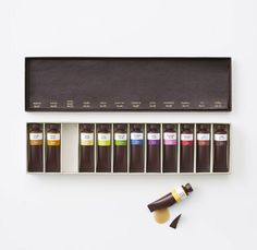 Edible Chocolate Art Supplies by Nendo