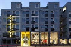 The Student Hotel The Hague / HVE Architecten