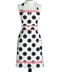 Love this Dancing Dots Doris Apron by Jessie Steele on #zulily! #zulilyfinds